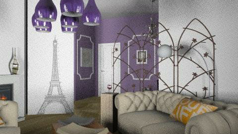 paris revisité 2 - Vintage - Living room  - by calu13