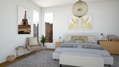 Bedroom - Modern - Bedroom  - by martinabb
