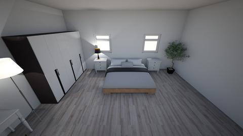 nika room - Bedroom - by Viki20