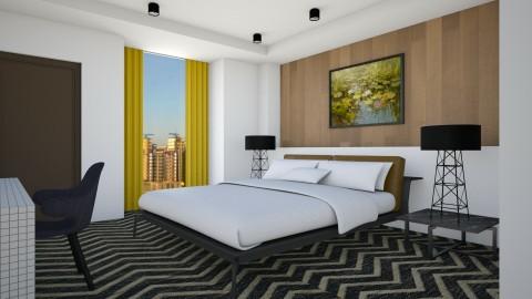 Beddie Hotel Room - Modern - Bedroom  - by 3rdfloor