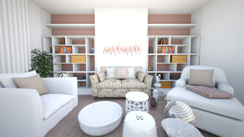 mjk - Living room - by milene_abreu