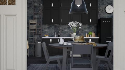Monochrome - Modern - Kitchen  - by HenkRetro1960