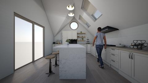 boho  - Kitchen  - by melcampusano