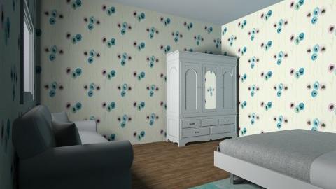 habitacion a mi modo - Retro - Bedroom  - by alejandra01