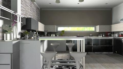 kitchen new 004 - Classic - Kitchen  - by Bandara Beliketimulla