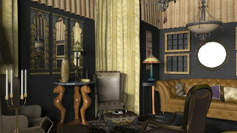 cabinet - Classic - Office  - by chania
