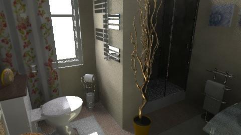 flat 7 - Glamour - Bathroom  - by sally89