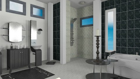 1657 - Modern - Bathroom  - by milyca8