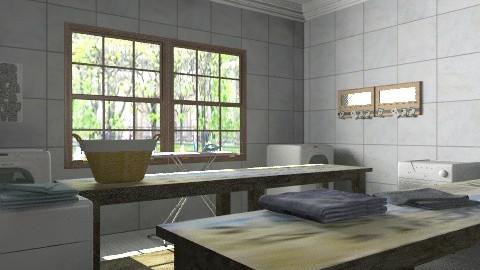 castle project -utility room - Modern - Kitchen  - by auntiehelen