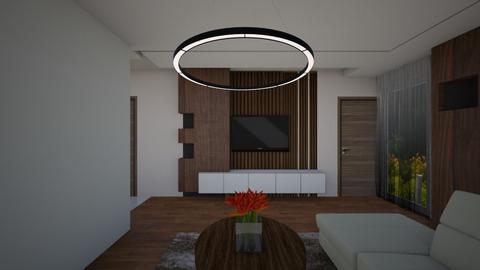 NB livingr kitchen - Modern - Living room - by szaboi