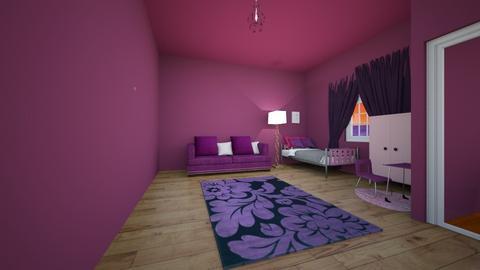 pink and purple - Modern - by Oyisha