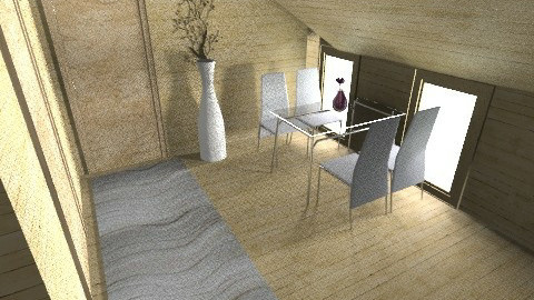 cabin_dining - Country - Dining room - by moonkai