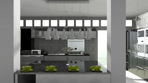Kitchen3 - Modern - Kitchen  - by KittiFarkas