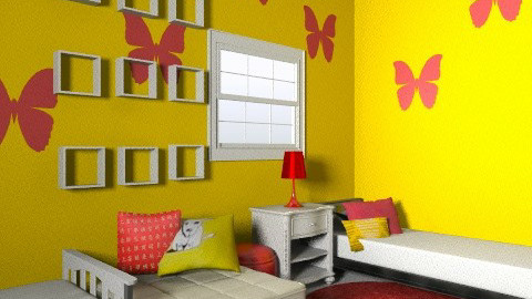 Girls' Room - Classic - Kids room  - by lashaim