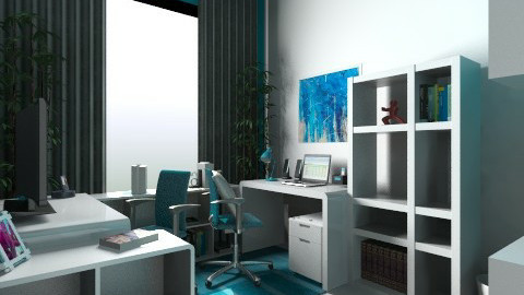 Home Office - Modern - Office  - by paulaet