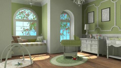 Baby Posh - Classic - Kids room  - by chloedaniella