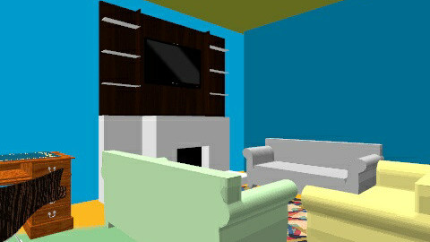 tays spac room - Retro - Living room  - by tayquian