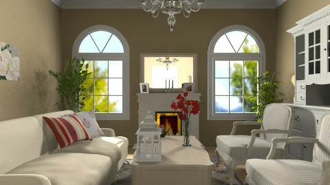 cosy living room - Classic - Living room  - by martinabb