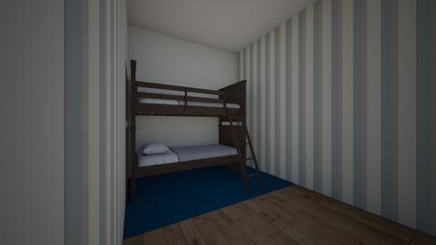 quarto meninos - Kids room  - by bia gardi