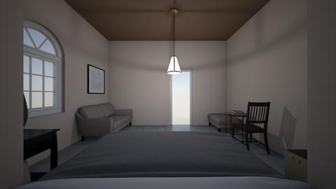 habitacion de hotel - Bedroom  - by josueealcocer