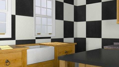 kitchen unfinished  - Retro - Kitchen  - by Danni_quiksilver