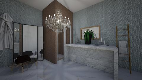 modern bathroom - Modern - Bathroom  - by kiwimelon711