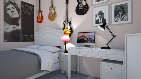 Teenage Bedroom - Bedroom  - by huynhdangtruong118