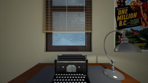 1940s Desk - Bedroom  - by WestVirginiaRebel
