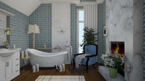 bath - Bathroom  - by KittiFarkas