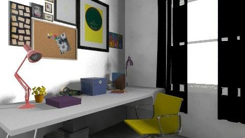 working rooms last7 - Vintage - Office  - by bellabravis
