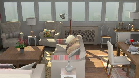 Patternism - Country - Living room  - by camilla_saurus