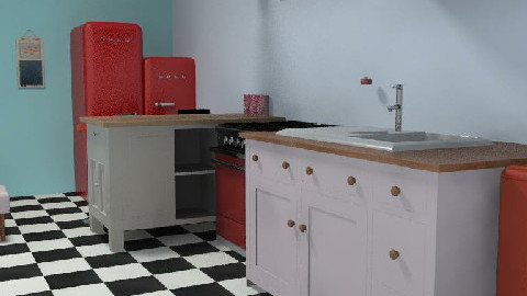retro - Retro - Kitchen  - by cleopamoramor