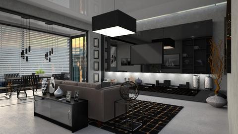 idk - Living room  - by AndreaDozorova