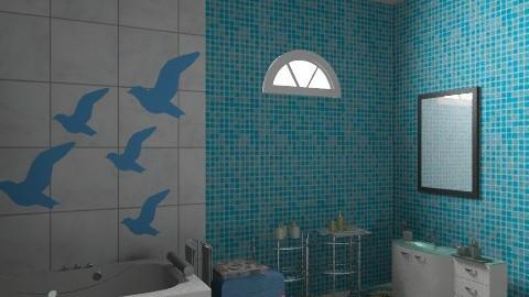 Childern's best playground - Glamour - Bathroom  - by vadmacsek95
