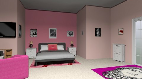rooooom - Feminine - Bedroom - by leggomylindsay