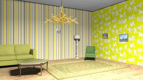 groovy - Retro - Living room  - by retro gal
