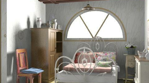 Country bedroom_n - Country - Bedroom  - by milyca8