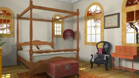 flash from the past - Vintage - Bedroom - by deepthinker