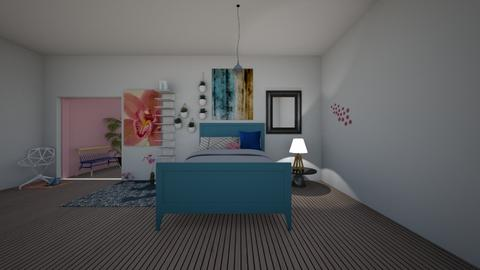 Queen bed room - Bedroom  - by greekgirl37