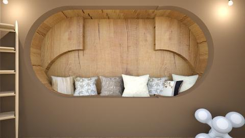Rustic corner_Intent 1589 - Rustic - Bedroom  - by Agamanta