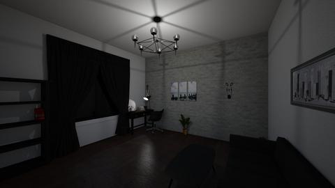 homeoffice - Minimal - Office  - by leyaaa