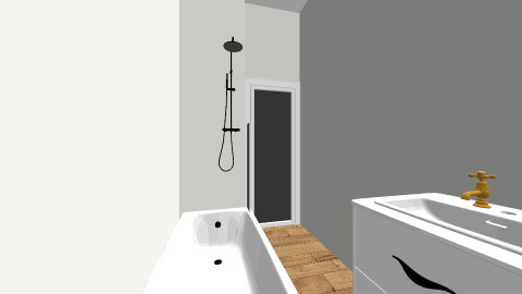 badrum - Eclectic - Bathroom  - by Rolin Cafferty