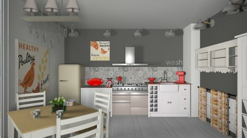 de campagne - Retro - Kitchen  - by calu13