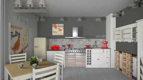 de campagne - Retro - Kitchen - by calu13