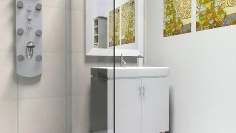 small bathroom 2 - Minimal - Bathroom  - by Maleli