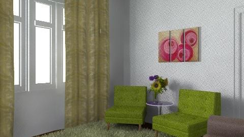 Claire - Retro - Living room  - by ClaireThursby
