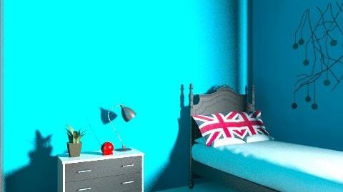 duda - Retro - Bedroom  - by duda_da_silva