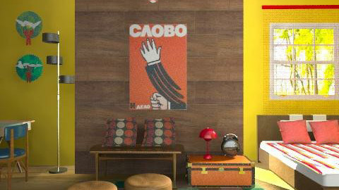 Camera - Retro - Bedroom  - by RobertaS