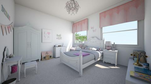 Harper - Bedroom - by MaisieTang