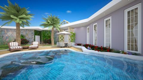 Pool XII - Garden - by nanabpf